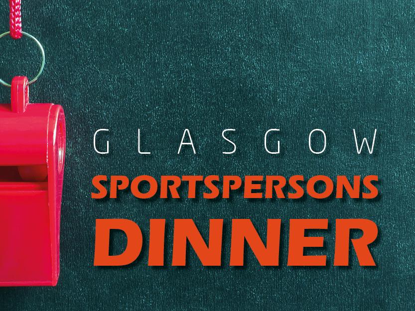 Glasgow Sportspersons Dinner 2021
